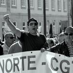 Protestos a norte___