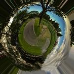 Panorâmica circular - parque