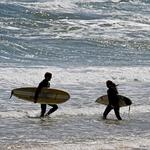 O fim e o inicio do surf cruzando-se
