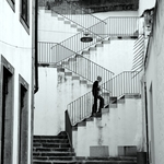 A escadaria