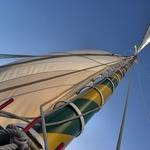 O mastro do varino