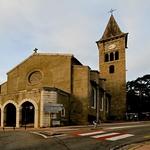 L'église Ax-Les-Thermes - France
