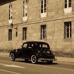O velho Mercedes