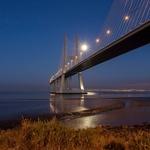 A ponte em noite de luar!