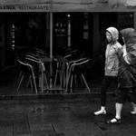 Sob a chuva do Outono