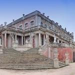 Pavilhão Robillion, Escadaria dos Leões