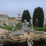 Panorâmica dos Jardins e palácio