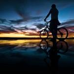 ciclista de marés