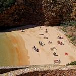 A bela praia da Berlenga
