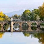Os arcos da Ponte e o Outono