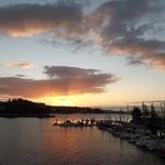 Pôr do Sol em Vigo