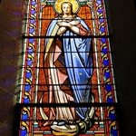 Chatre - Eglise S_ Germain - vitral (4)