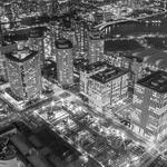 Night view of Tokyo,P&B