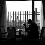 Reflexões e reflexos ao amanhecer
