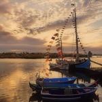 Barcos típicos do Tejo