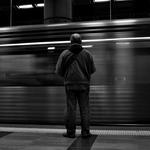A ver passar os comboios