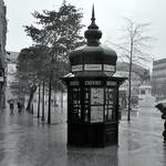 Chove na baixa da cidade___
