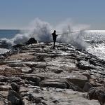 Pescando num mar de prata