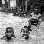 mandi banjir