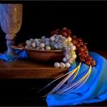 Ensaio com uvas