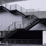 Escada de emergência