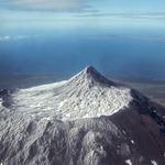 Voando sobre um vulcão