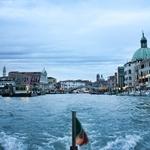 Chegada a Veneza