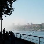 Nevoeiro no Rio Douro
