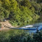 Piscina fluvial no Rio Vouga