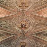 Detalhes do teto da Igreja da Graça