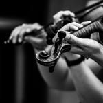 ao som de violinos ___