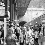 A chegado do comboio