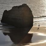 Caminhos de areia e mar