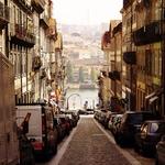 A caminho da ribeira do Porto