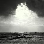 Entre o céu e o oceano...