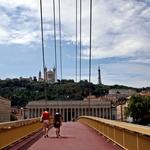 A ponte pedonal!