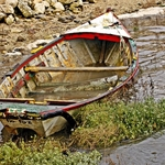 Barco Abandonado!