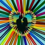 O amor torna a vida colorida !!!!!!!!!!!!!!!!