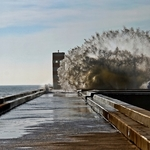 A água do mar espalha-se!!!