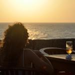 Pôr-do-sol em Cartagena