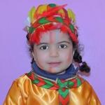 Uma india no desfile de Carnaval