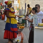 Vendedora de frutas - Cartagena
