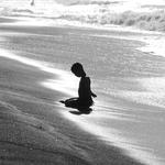 Zen Moment Of A Child .