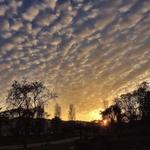 Ontem o céu estava assim!!!
