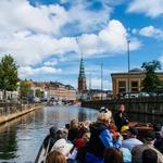 Pelos canais de Copenhague.........