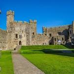 Castelo de Caernarfon.