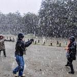 Ushuaia.....Descontração na neve.!!!!!!!!!!