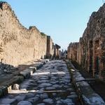 Ruinas da cidade de Pompeia.
