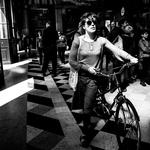 A mulher da bicicleta