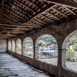 Interior da varanda _ Casa dos Arcos